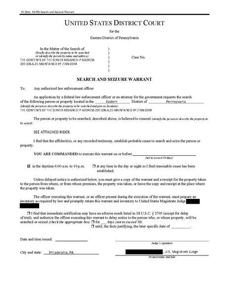 File Jtan Search Warrant Pdf Wikimedia Commons