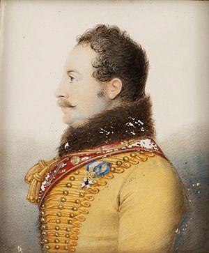 Jacob Axel Gillberg - A portrait by Jacob Axel Gillberg