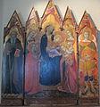 Jacopo di mino del pellicciaio, incoronazione di s. caterina d'alessandria e santi, 1362.JPG