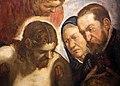 Jacopo tintoretto, cristo deposto sostenuto da san giovanni e dalla maddalena alla presenza di due committenti 02.jpg