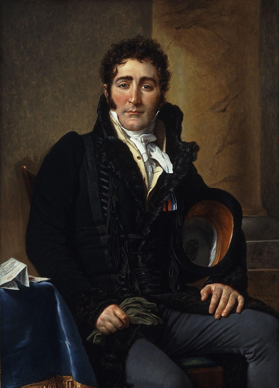 Jacques-Louis David - Portrait of the Comte de Turenne - Google Art Project