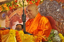 Rambhadracharya farante diskurson