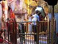 Jai Mata Di...Maa Chintpurni's Durbar as seen from the ancient havan kund on left.jpg