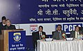 Jaipal Reddy addressing the function of Oil & Gas Conservation Fortnight 2012, in New Delhi on January 18, 2012. The Secretary, Ministry of Petroleum and Natural Gas, Shri G.C. Chaturvedi is also seen.jpg