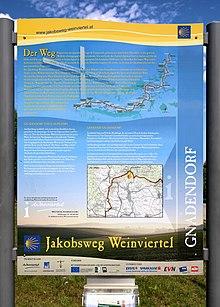 Jakobsweg Weinviertel Wikipedia