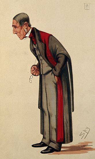 "James Paget - ""Surgery"" Caricature by Spy published in Vanity Fair in 1876"