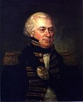 Portrait of James Wilkinson, senior Continental Commander in Kentucky, later senior General in the US Army, posted in New Orleans.