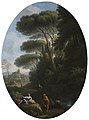 Jan Frans van Bloemen (1662-1749) - A Classical Landscape with a Man and a Woman Conversing - 609004 - National Trust.jpg