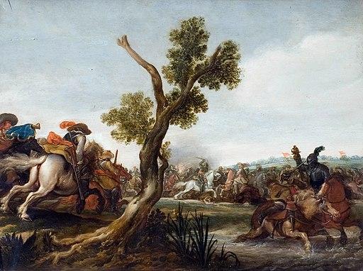 Jan Martszen de Jonge - battle scene Victoria and Albert Museum