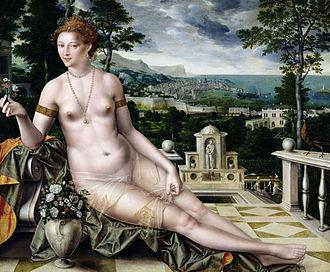 Jan Matsys - Venus of Cythera, 1561
