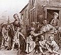 Jan de Bray - Tending Children in the Orphanage in Haarlem - WGA03132.jpg