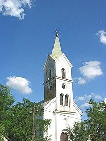 Jankov Most, Romanian Orthodox church.jpg