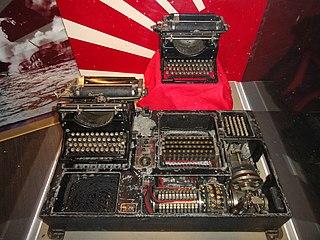 Type A Cipher Machine cipher machine