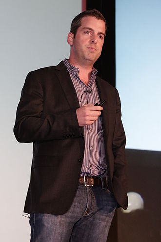 Javier Soltero - Soltero speaking at the H3 conference in Puerto Rico