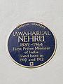 Jawaharlal Nehru Blue Plaque.jpg