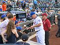 Jay Bruce signing autographs on August 2, 2016.jpg