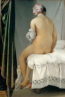 <i>The Valpinçon Bather</i> painting by Ingres