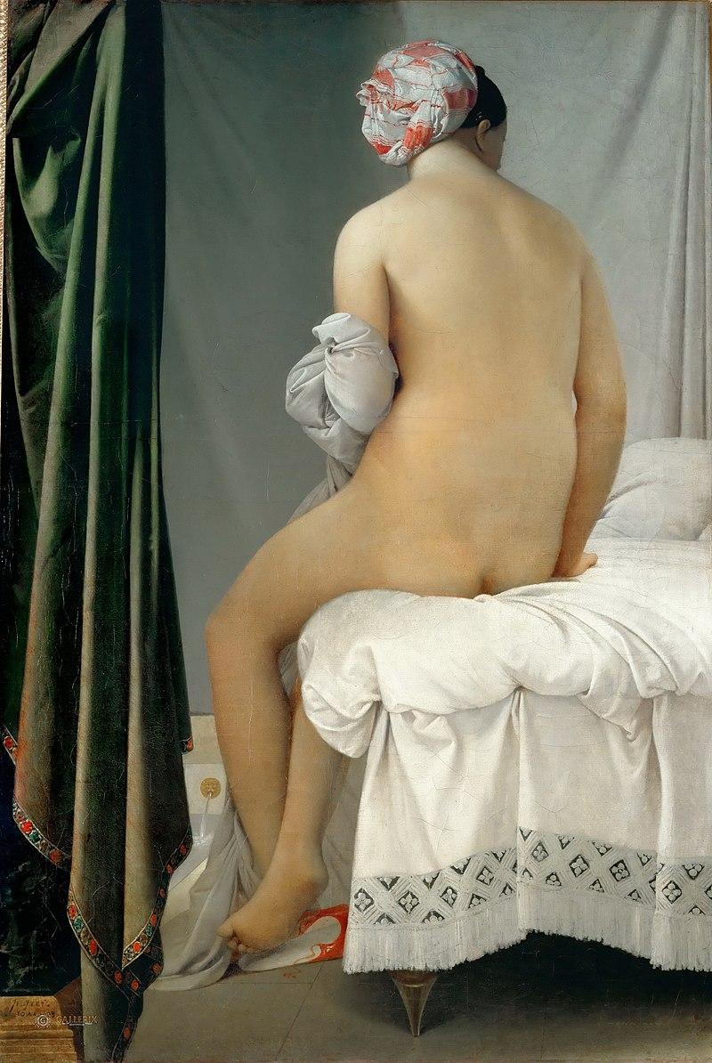 Jean-Auguste-Dominique Ingres - La Baigneuse Valpinçon.jpg