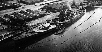 French battleship Jean Bart (1940) - Battleship Jean Bart