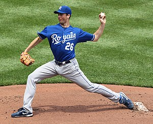 Jeff Francis - Francis while with the Kansas City Royals