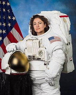 Jessica Meir astronaut, physiologist