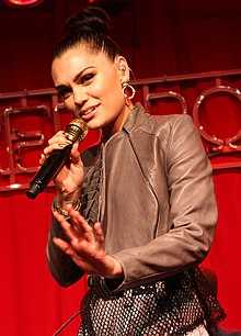 Jessie J at the Nova 96.9's Red Room, Sydney, Australia in 2012.