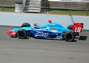 Jimmy Kite - Practicing for the 2007 Indianapolis 500