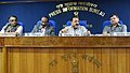 Jitendra Singh addressing a press conference on issues related to Department of Space, in New Delhi (1).JPG