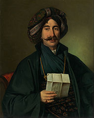 Man in Ottoman dress