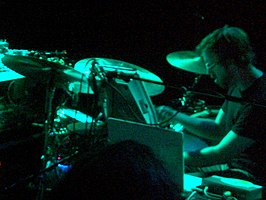 Joe Russo performing in Madison, Wisconsin, 2006