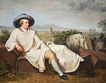 Johann Heinrich Wilhelm Tischbein - Goethe in der roemischen Campagna.jpg