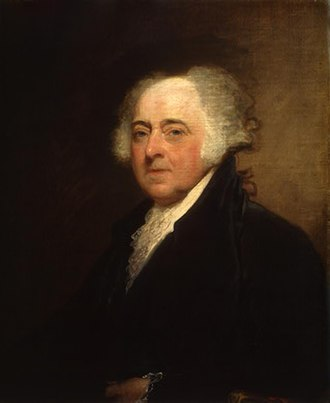 History of the United States (1789–1849) - John Adams, Second U.S. President
