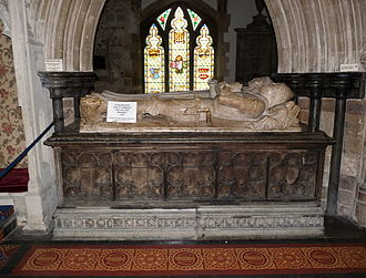 John Beaufort, 1st Duke of Somerset - Tomb of John and Margaret Beaufort in the minster church of St Cuthburga, Wimborne Minster, Dorset
