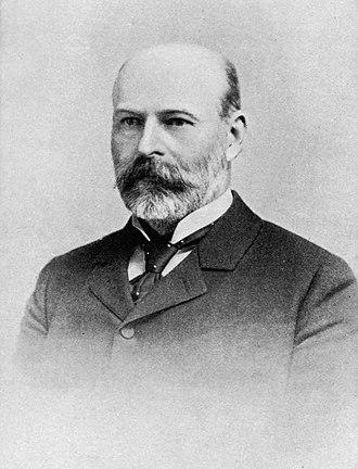 John Casper Branner - Branner in 1896