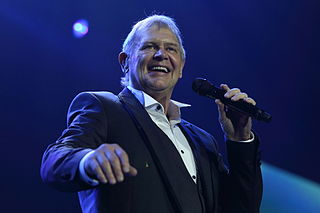 John Farnham English-Australian pop singer