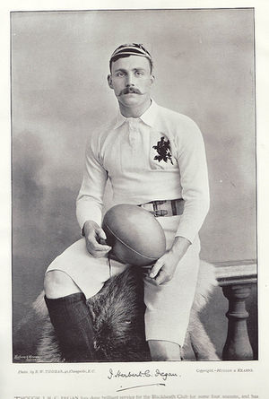 John Fegan (rugby union) - Fegan in England jersey