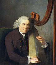 William Parry, Niewidomy walijski harfista, 1775–1782