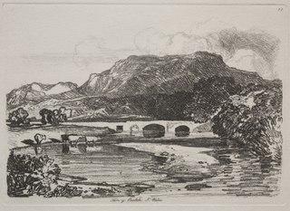 Liber Studiorum:  Tan y Beolch, North Wales (1928.646)
