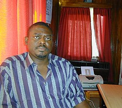 Johnny Paul Koroma, head of the Armed Forces Revolutionary Council in Sierra Leone.jpg