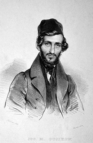 Josef Gusikov - Joseph Gusikov, engraving by Josef Kriehuber