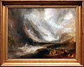 Joseph mallord william turner, valle d'aosta, tempesta di neve, valanga e fulmini, 1836-37, 01.jpg