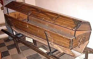 Göss Abbey - Josefinischer Sarg von 1784