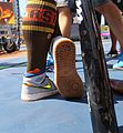 Josh Donaldson rocks some hot Air Jordans for Gatorade All-Star Workout Day. (28377246850).jpg