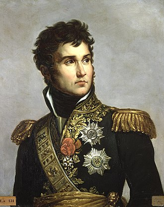 Jean Lannes - Jean Lannes, Marshal of France,  painting by Julie Volpelière, after  François Gérard.