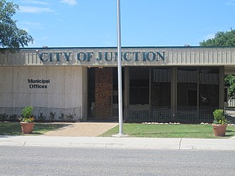 Junction, Texas - Junction City Hall