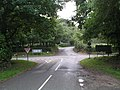 Junction of A272, Glasshouse Lane and Kingspit Lane at Foxhill - geograph.org.uk - 257614.jpg