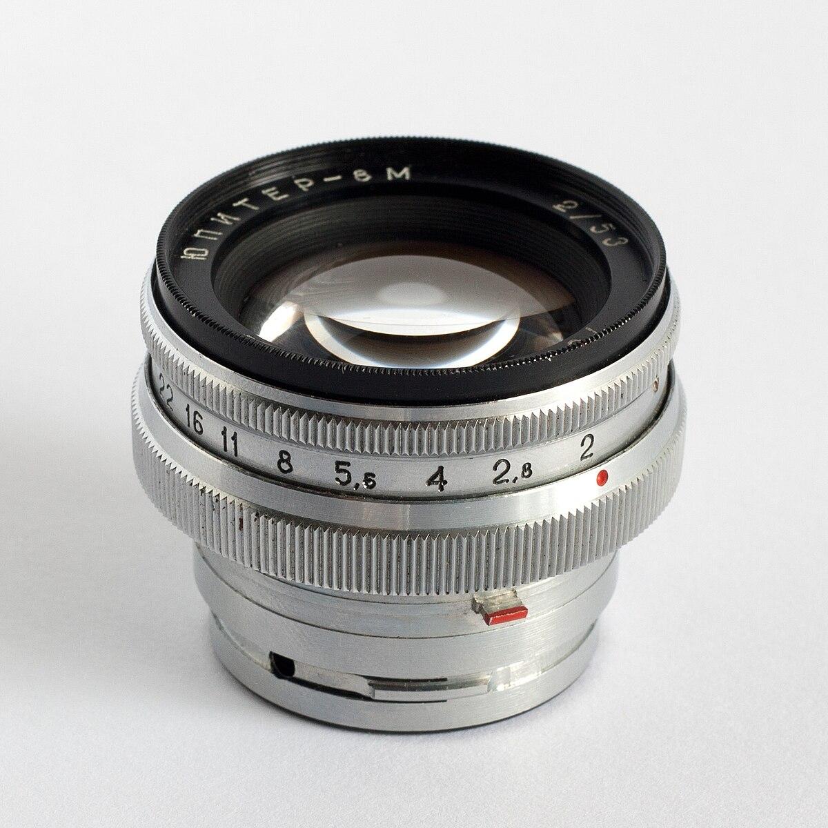 Jupiter 8 Lens Wikipedia