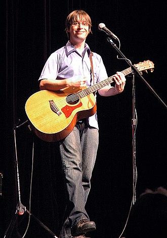 Justin Roberts (musician) - Justin performing November 2007