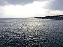 十三湖(中の島遊歩道橋より ...