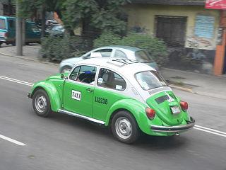 Volkswagen Beetle in Mexico